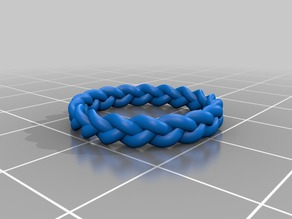 3 Strand Braided Ring (OpenSCAD)
