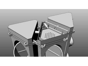 Modular Hydroponic Tower Garden Remix