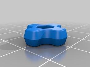 M3 Nyloc (Nylon locking nut) thumbscrew