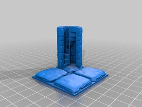 OpenForge 2.0 Mag House Stone Stairwell