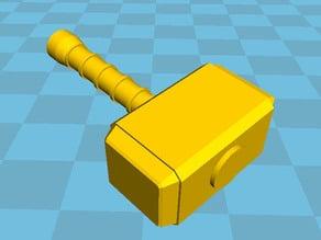Mjolnir-like 1 handed siege.