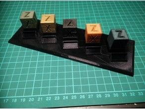Calibration Cube Holder