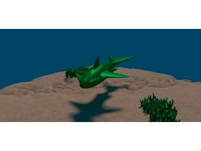 Fantasy Underwater Creature
