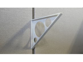 Cubicle shelf bracket