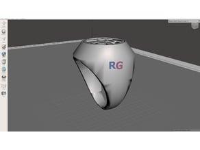 Goku symbol ring
