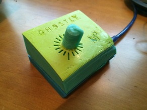 Ghostly one button MIDI controller (M3)