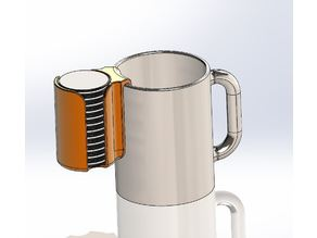 Oreo Cup Caddy, Dunking Apparatus