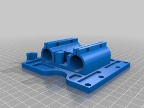 Wilson ii X carriage utilizing Lulzbot Taz toolhead