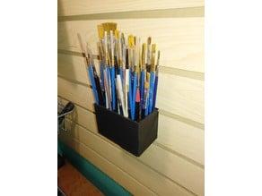 Artist's Brush Caddy for Slatwall