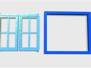 Functioning Miniature Window