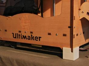 Customizable: ultimaker foot (hence, feet also)