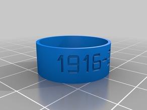 jaartallen ring size 11