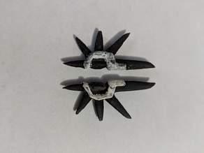 Lego Hidden Gemini Dual Blades