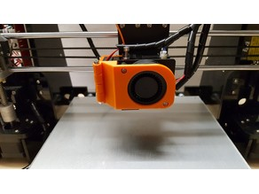 Anet A8 Extruder Fan Modification V2
