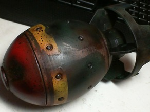 Fallout 4 Mini Nuke Game Prop