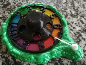 Spiel des Lebens Rad - Game of Life Wheel