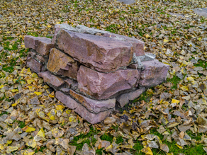 Quartzite blocks