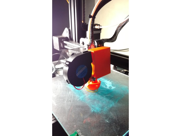 Creality CR10 & Ender 3 upgrade for 5015 FAN by curlinos
