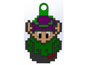 Link to The Past- Link Keychain