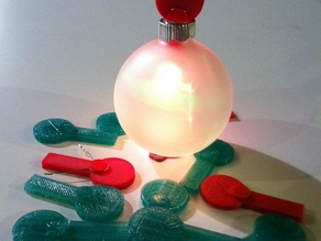 LED Ornament Topper