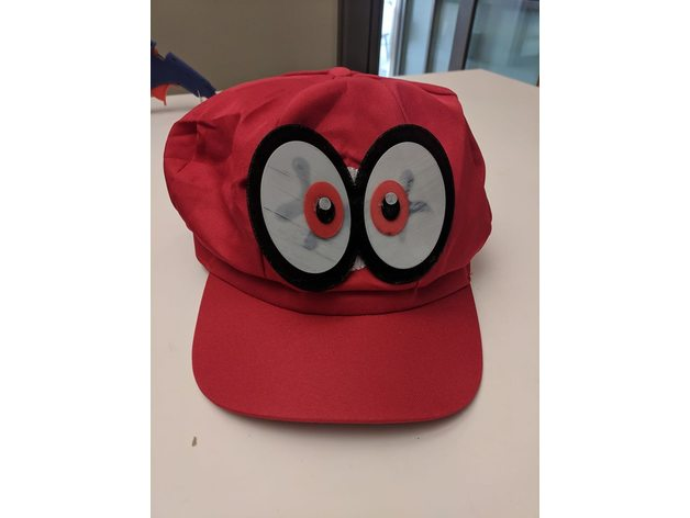 Super Mario Odyssey Cappy Eyes By Tastywhale Thingiverse