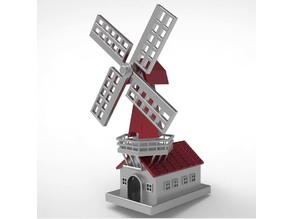 Windmill Minature Toy