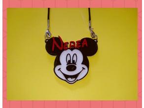 Colgante Nerea Mickey