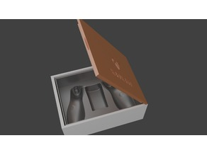 XBox 360 Wireless Controller Box Molded Case
