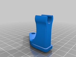 Hero Me Dial Mount Clip with X clearance for Ender 3