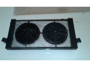 1/10 Radiator with fans to suit Axial Trophy Truck