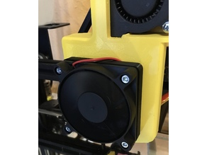 FAN adapter 40mm to 60mm (CR-10)