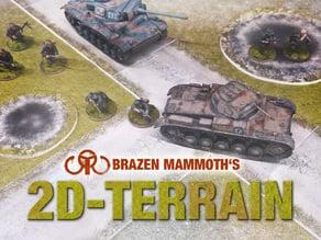 2D Tabletop Terrain
