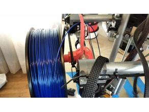 MPCNC-C (23.5 mm conduit) Spool Hook with Filament Guide