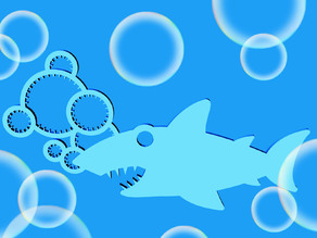 Shark Bubble Wand