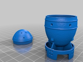 Fallout 4 Mini Nuke Easter Egg container