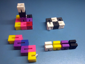 Elastic Cubes Puzzle Therapy