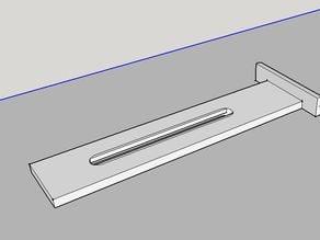 Triton workcentre side pressure finger