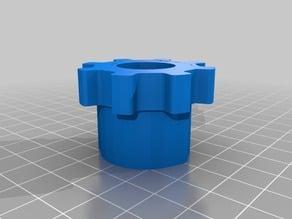 1/2 PVC Gear Cap
