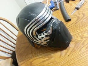 Another (better (in my opinion anyway)) Kylo Ren helmet.