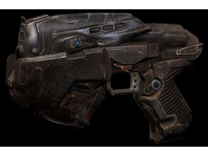 Gears of War 3 snub pistol
