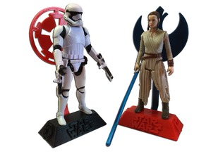 STARWARS ACTION FIGURE STAND