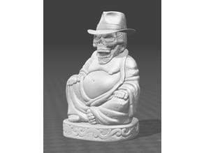 Skull Buddha
