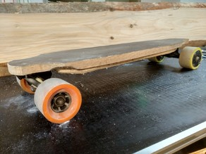 Clean electric Longboard Travelboard 100% CNC milled