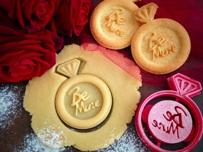 Be Mine Ring Cookie Cutter