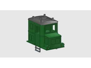 HOe/-9/n30 very tiny electric loco