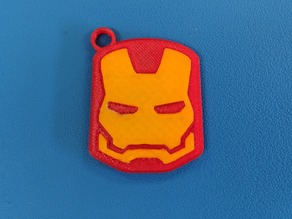 Iron Man Keychain (Fitted, Three Pieces)