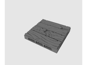 2x2 Wood Plank Floor 2
