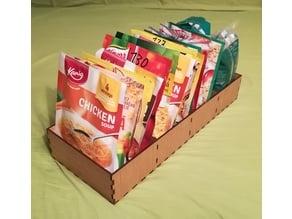 Food bags organizers