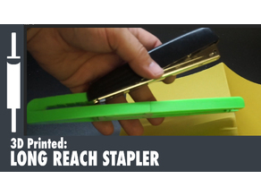 Long Reach Stapler Base