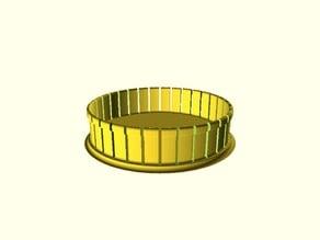 Customizable car wheel cap